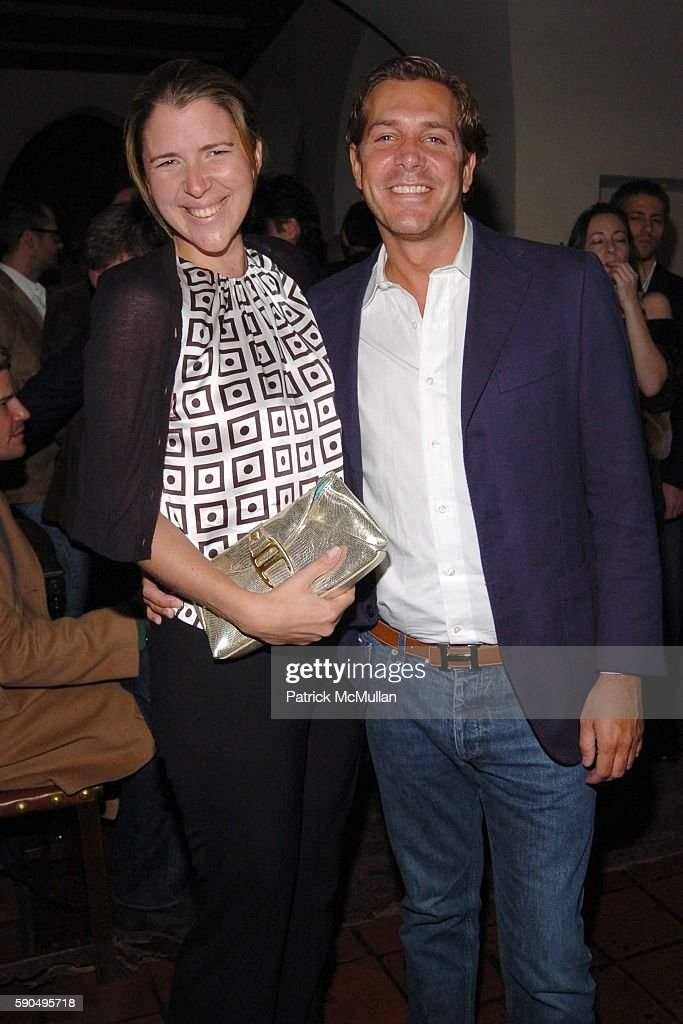 Samantha Gregory and Christian Leone attend HBO Films' Annual PreGolden Globes Party hosted by Colin Callender and Chris Albrecht at Chateau Marmont...