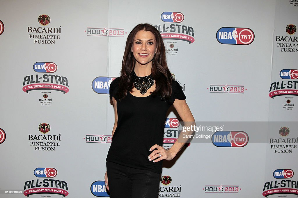 Samantha Harris at the NBA on TNT All-Star Saturday Night Party, Presented by Bacardi Pineapple Fusion at House Of Blues on February 16, 2013 in Houston, Texas.