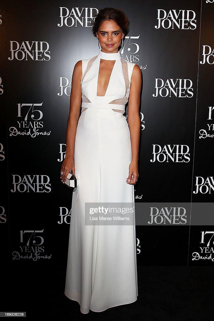 Samantha Harris attends the David Jones 175 year celebration at David Jones on May 23, 2013 in Sydney, Australia.