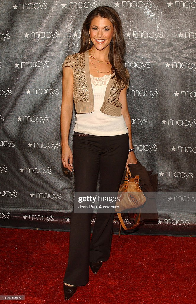 Samantha Harris during Macy's and American Express Passport Gala 2005 - Arrivals at Barker Hanger in Santa Monica, California, United States.