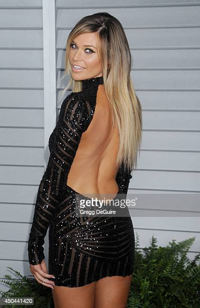 Samantha Hoopes arrives at the MAXIM Hot 100 celebration event at Pacific Design Center on June 10 2014 in West Hollywood California