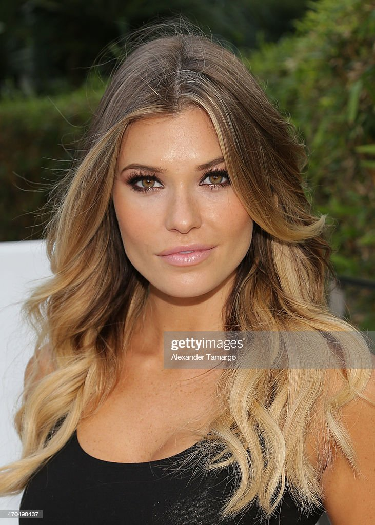 Samantha Hoopes joins Captain Morgan White Rum to celebrate Sports Illustrated Swimsuit's 50 Years of Swim Issue at Fontainebleau Miami Beach on February 19, 2014 in Miami Beach, Florida.