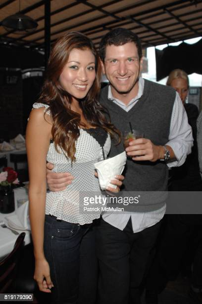 Samantha Huong Sam Englebardt attend The Supper Club Shepard Fairey's SNO host a Bombay Sapphire Tea Party at The Tea Room on July 20 2010 in...