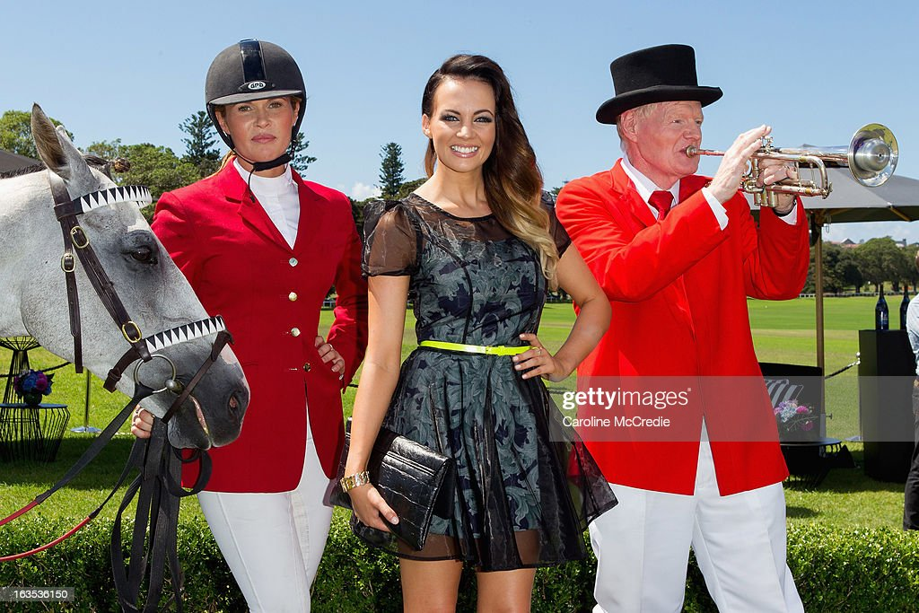 Samantha Jade at the BMW Sydney Carnival launch at Centennial Park on March 12, 2013 in Sydney, Australia.