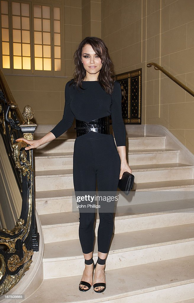 Samantha Jane Barks attends a Vogue dinner hosted by Alexandra Shulman in honour of Michael Kors at Cafe Royal on April 25, 2013 in London, England.