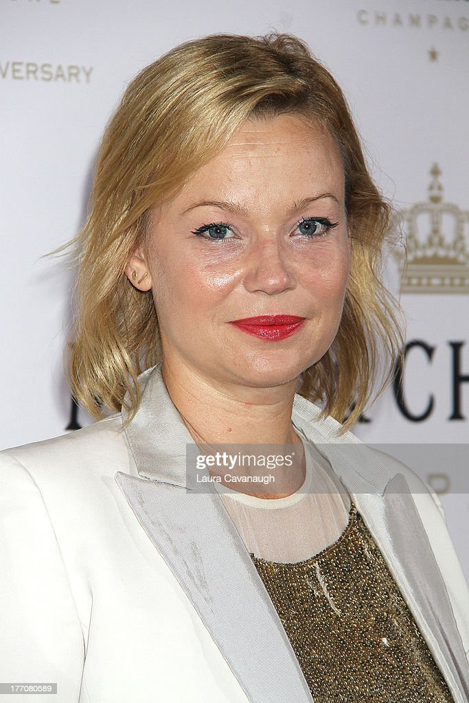 <a gi-track='captionPersonalityLinkClicked' href=/galleries/search?phrase=Samantha+Mathis&family=editorial&specificpeople=213487 ng-click='$event.stopPropagation()'>Samantha Mathis</a> attends the Moet & Chandon 270th Anniversary at Pier 59 Studios on August 20, 2013 in New York City.