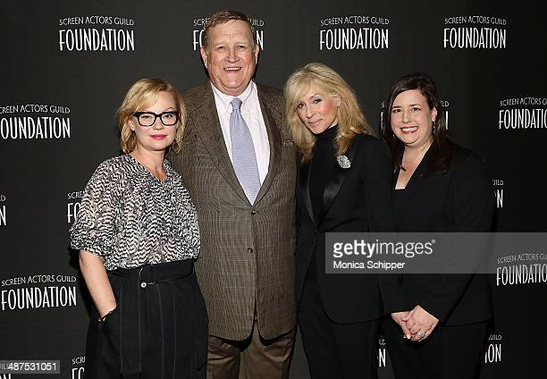 Samantha Mathis Ken Howard Judith Light and Rebecca Damon attend the opening of the SAG Foundation Actors Center on April 30 2014 in New York City