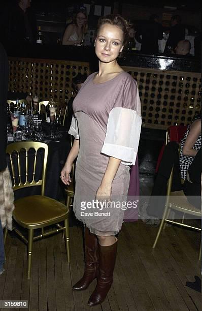 Samantha Morton attends the 2003 British Independent Film Awards at Po Na Na on November 5 2003 in London