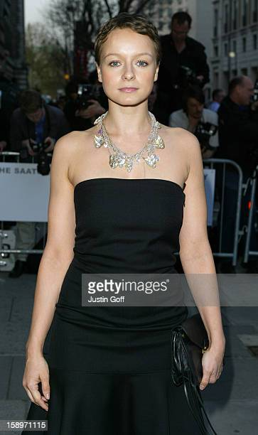 Samantha Morton Attends The Celebrity Launch Party Of The New Saatchi Gallery In London