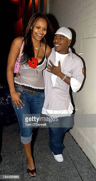 Samantha Mumba and Sisqo during Sisqo and Samantha Mumba Sighting Dublin at Lillies Bordello's in Dublin Ireland