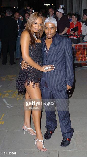 Samantha Mumba and Sisqo during 'SpiderMan 2' London Premiere After Party Outside Arrivals at Old Billingsgate Market in London Great Britain