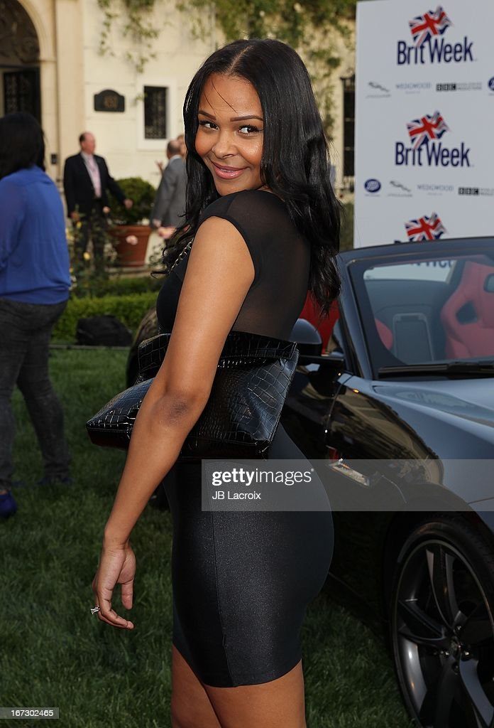 Samantha Mumba attends the 7th Annual BritWeek Festival 'A Salute To Old Hollywood' launch party held at The British Residence on April 23, 2013 in Los Angeles, California.