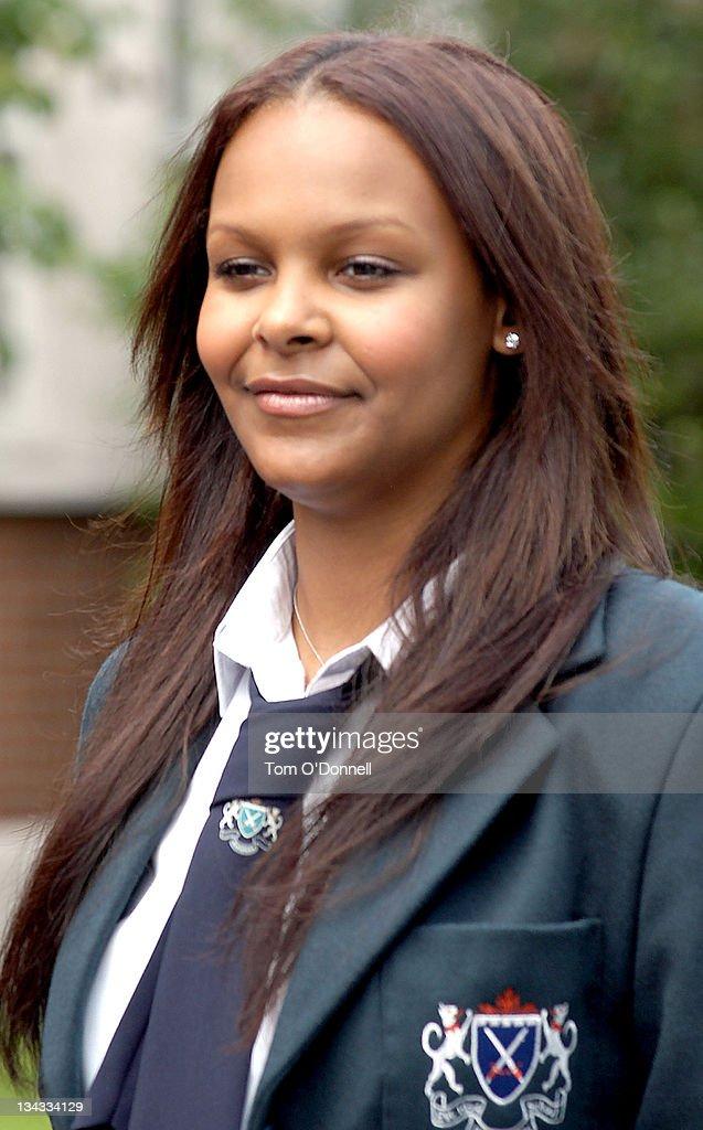 Samantha Mumba during 'Boy Eats Girl' On Set - Photocall at <b>Marian College</b> ... - samantha-mumba-during-boy-eats-girl-on-set-photocall-at-marian-in-picture-id134334129