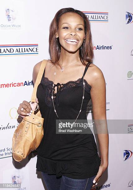 Samantha Mumba during USIreland Alliance PreOscar Event To Honor Neil Jordan Jim Sheridan and David Holmes at The Ebell Club of Los Angeles in Los...