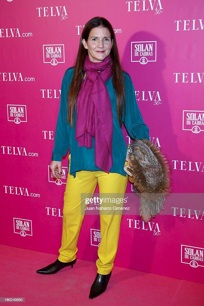Samantha Najera Vallejo attends 'Beauty T Awards 2013' by Telva at Palace Hotel on January 28, 2013 in Madrid, Spain.