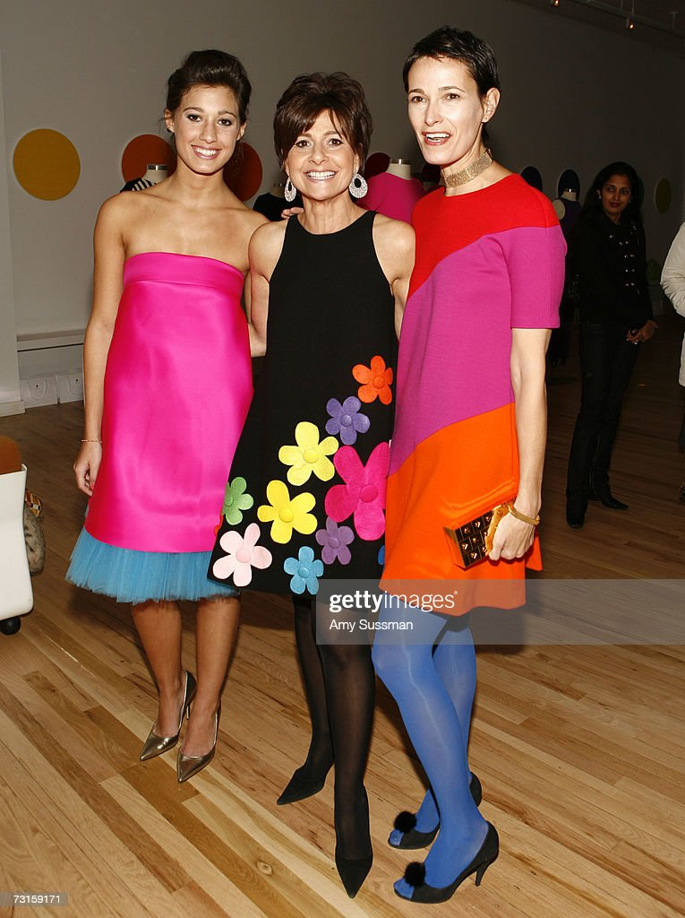 Samantha Perry Lisa Perry and Jeanne Greenberg Rohatyn attend the launch of Lisa Perry's debut Collection at the Lisa Perry Studios on January 30...