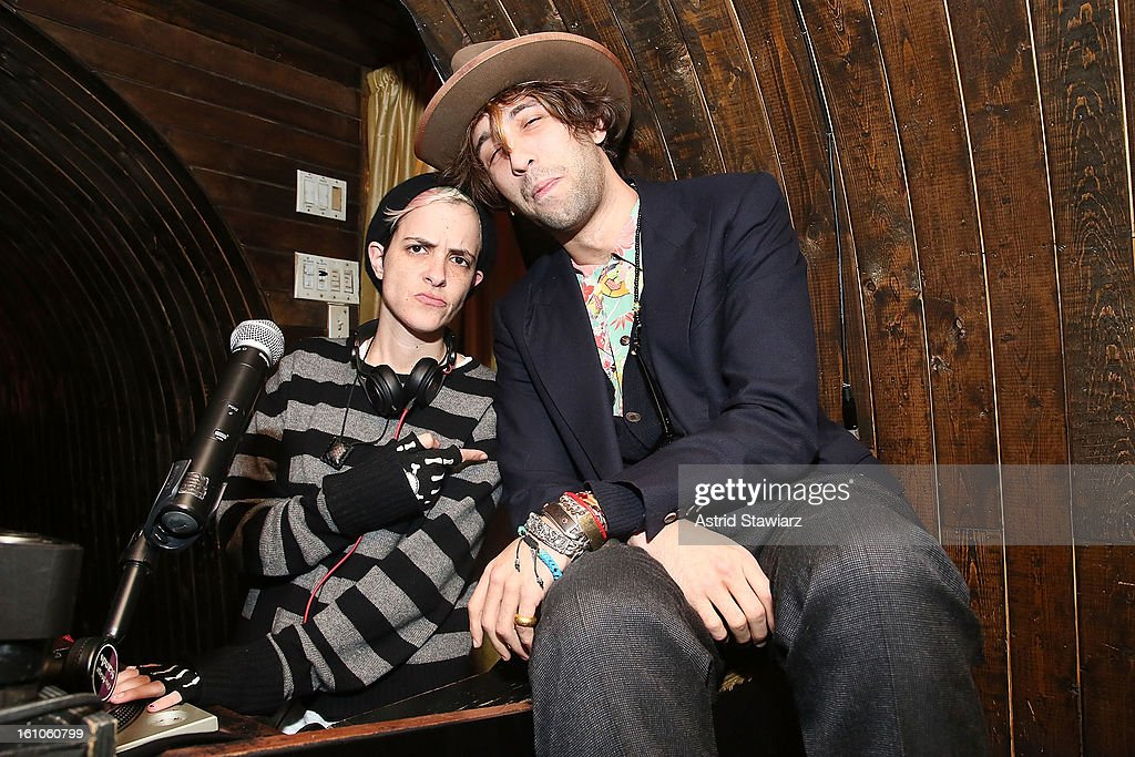 <a gi-track='captionPersonalityLinkClicked' href=/galleries/search?phrase=Samantha+Ronson&family=editorial&specificpeople=214678 ng-click='$event.stopPropagation()'>Samantha Ronson</a> and Alexander Dexter-Jones attend the Charlotte Ronson Fall/Winter 2013 - After Party at 1 Oak on February 8, 2013 in New York City.