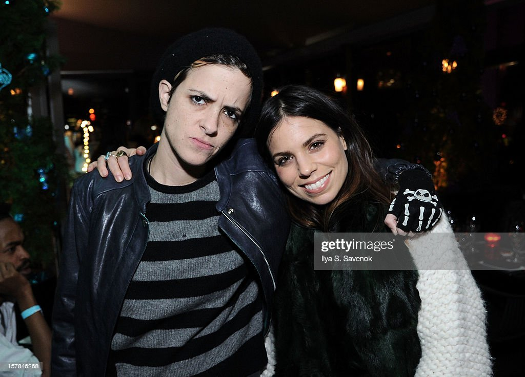 Samantha Ronson and Ally Hilfiger attend Charlotte Ronson + Artisan House Host Spring/Summer 2013 Handbag Preview on December 6, 2012 in New York City.