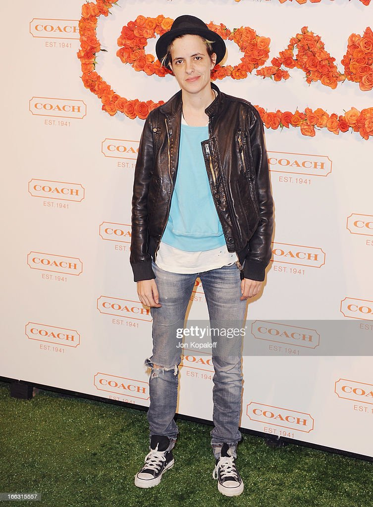 Samantha Ronson arrives at the 3rd Annual Coach Evening To Benefit Children's Defense Fund at Bad Robot on April 10, 2013 in Santa Monica, California.