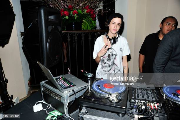 Samantha Ronson attend NICOLAS BERGGRUEN's 2010 Annual Party at the Chateau Marmont on March 3 2010 in West Hollywood California