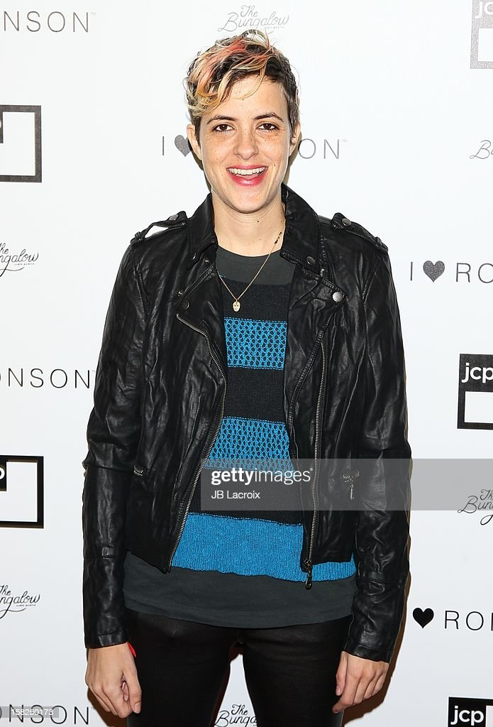 Samantha Ronson attends the Charlotte Ronson And Jcpenney I Heart Ronson Celebration With Music By Samantha Ronson at The Bungalow on December 11, 2012 in Santa Monica, California.