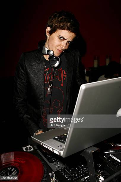 Samantha Ronson attends TV Guide's sixth annual Emmy after party at The Kress on September 21 2008 in Hollywood California