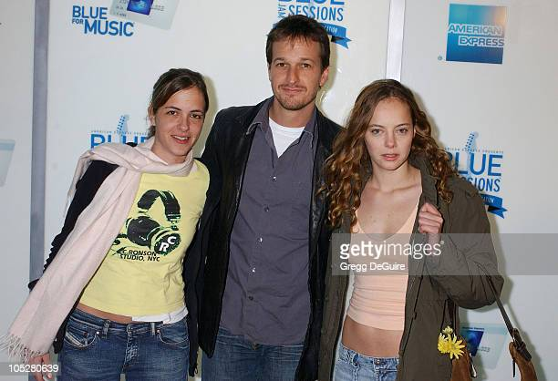 Samantha Ronson Josh Charles and Bijou Phillips during 'Blue Jam Sessions' Kicks Off at the House of Blues With Elvis Costello The Imposters at House...