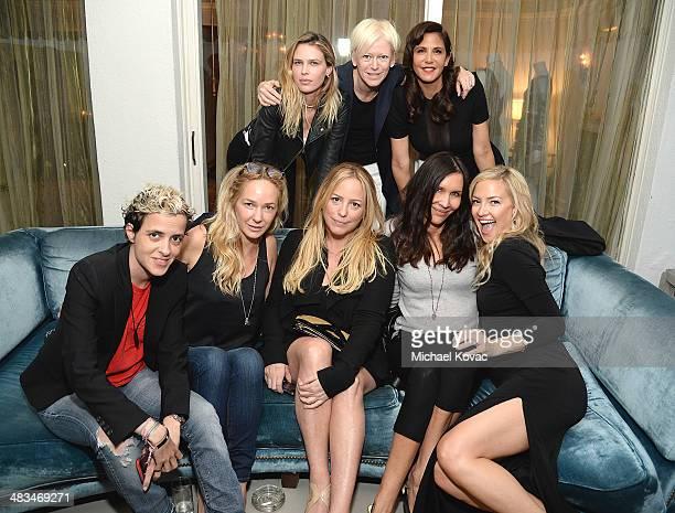 DJ Samantha Ronson Samantha Brickman producer Julie Yorn Julianna Roberts actress Kate Hudson actress Sara Foster Cosmopolitan EditorinChief Joanna...