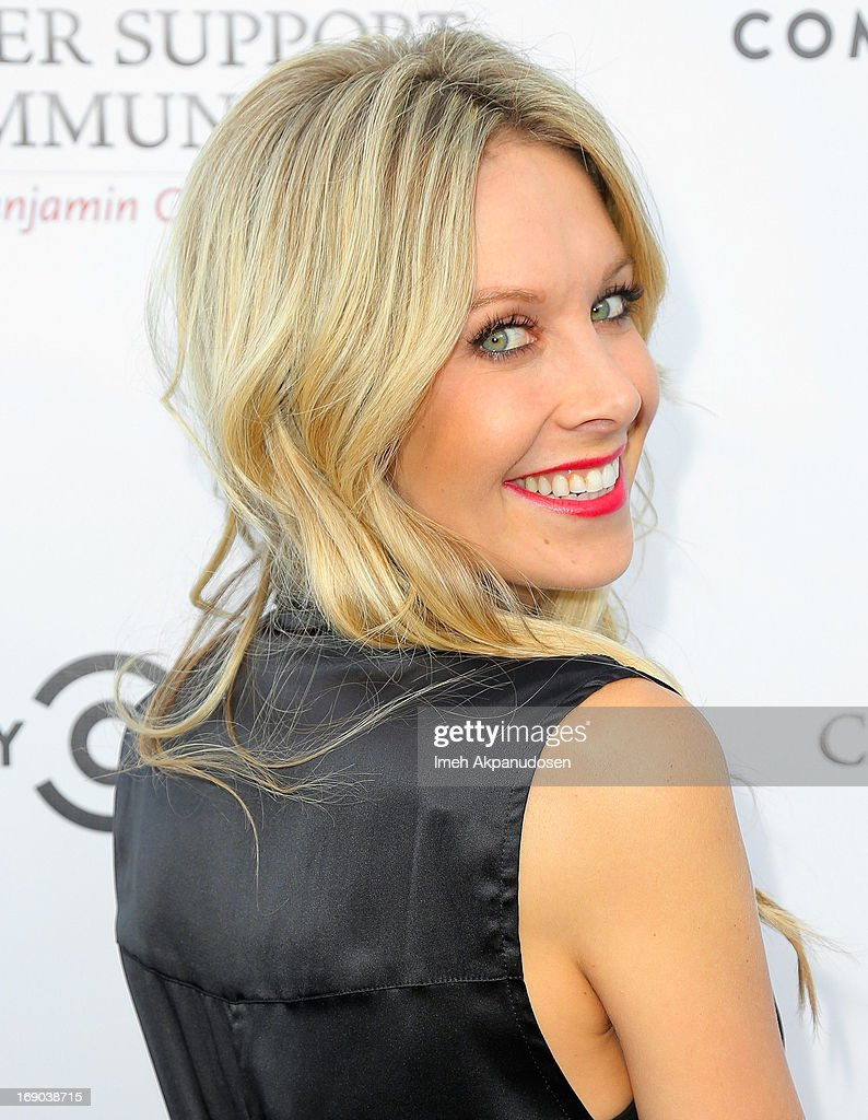 Samantha Schacher attends A Night of Fresh Comedy and Art celebrating Gilda Radner's legacy at Museum of Flying on May 18, 2013 in Santa Monica, California.