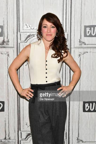 Samantha Soule visits Build to discuss 'Godless' at Build Studio on November 27 2017 in New York City