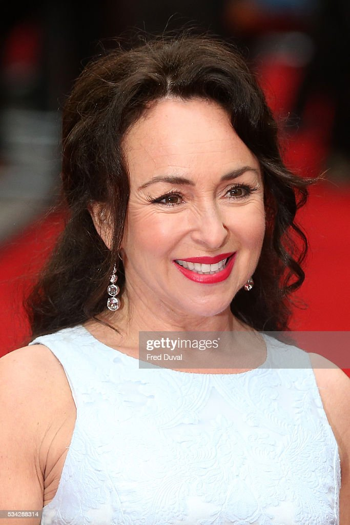 Samantha Spiro attends the European film premiere 'Me Before You' at The Curzon Mayfair on May 25, 2016 in London, England.