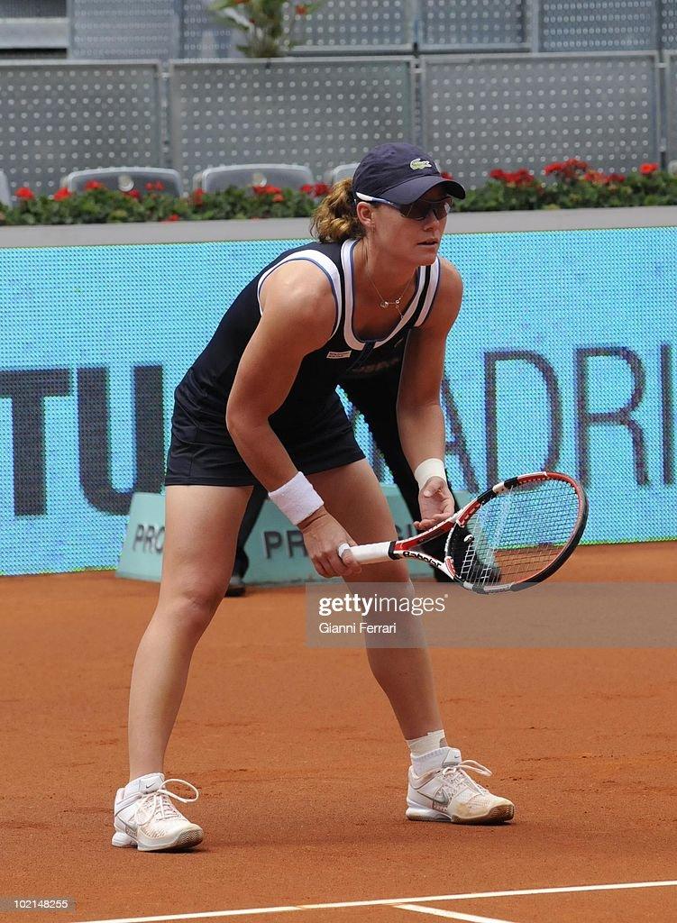Samantha Stosur, AUS tennis in 'Mutua Madrilena Madrid Open' , 8th May 2010, in 'La Caja Magica'. Madrid, Spain.