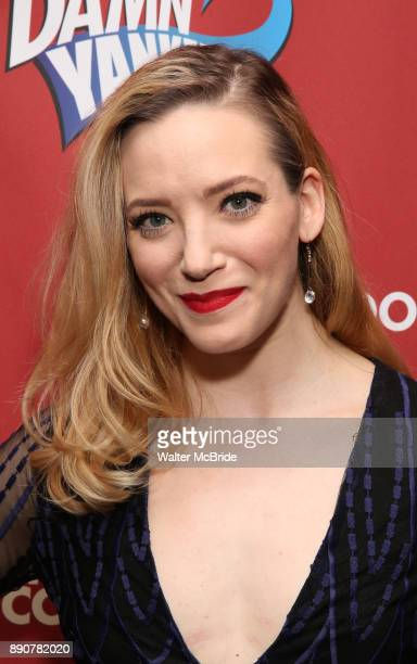 Samantha Sturm attend the cast party for the Roundabout Theatre Company presents a OneNight Benefit Concert Reading of 'Damn Yankees' at the Stephen...