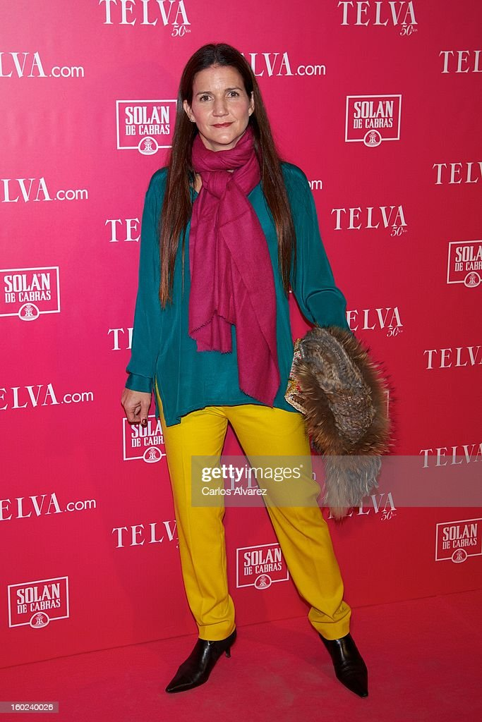 Samantha Vallejo Najera attends 'Beauty T' awards at the Palace Hotel on January 28, 2013 in Madrid, Spain.