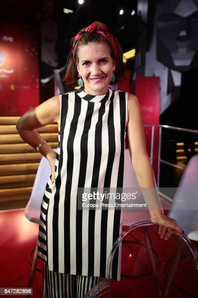Samantha Vallejo Najera attends 'MasterChef Celebrity' 2 presentation on September 14 2017 in Madrid Spain
