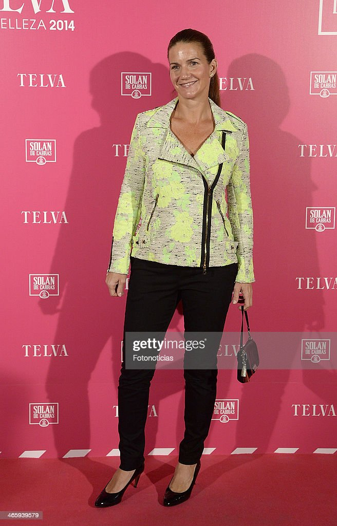 Samantha Vallejo Najera attends 'T de Telva' beauty awards 2014 at the Palace Hotel on January 30, 2014 in Madrid, Spain.