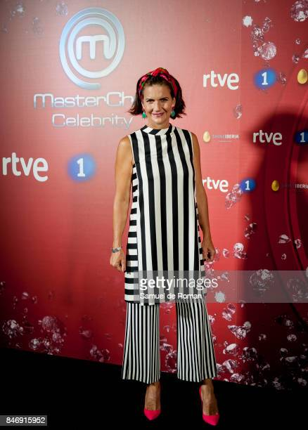 Samantha Vallejo Najera 'MasterChef Celebrity' 2 presentation on September 14 2017 in Madrid Spain
