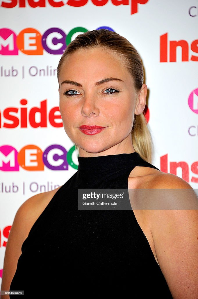<a gi-track='captionPersonalityLinkClicked' href=/galleries/search?phrase=Samantha+Womack&family=editorial&specificpeople=7590703 ng-click='$event.stopPropagation()'>Samantha Womack</a> attends the Inside Soap Awards, at Ministry Of Sound on October 21, 2013 in London, England.