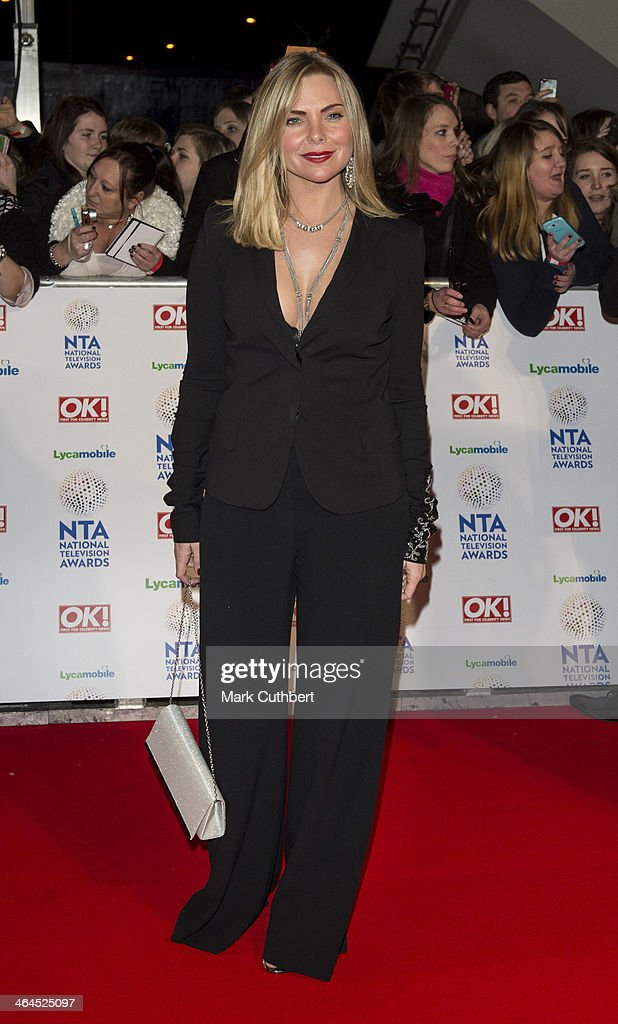 Samantha Womack attends the National Television Awards at 02 Arena on January 22, 2014 in London, England.
