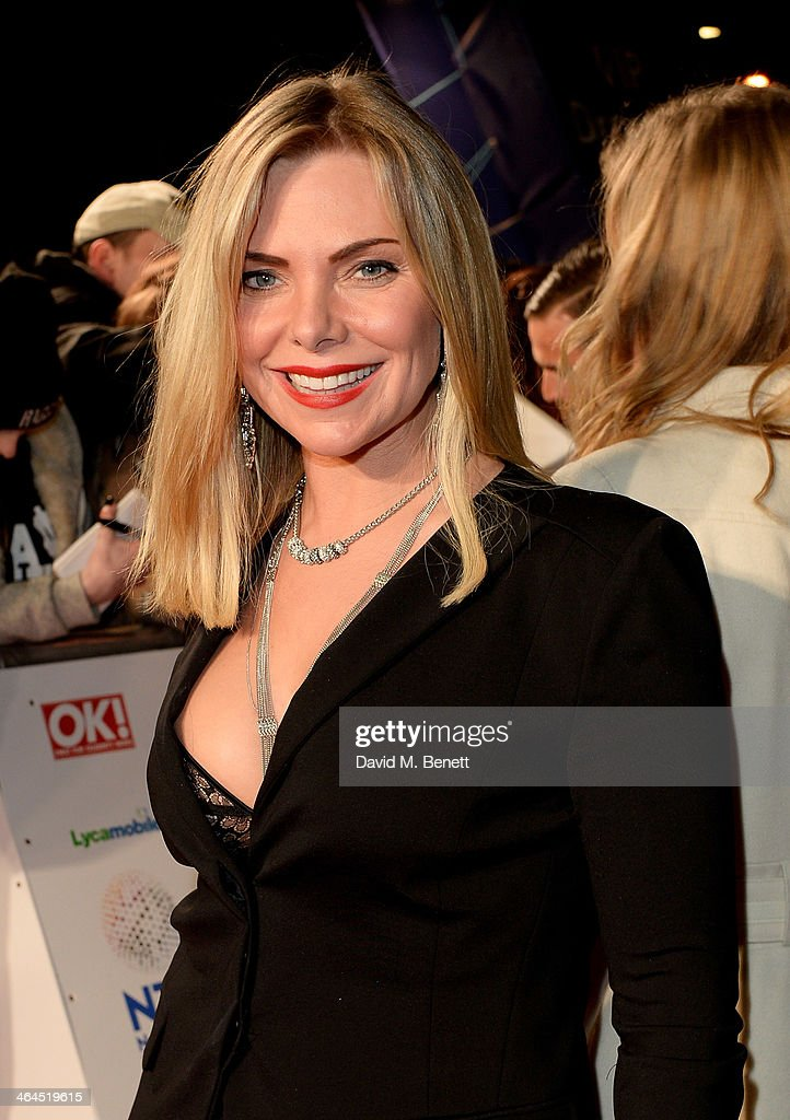 Samantha womack attends the national television awards at the 02 arena
