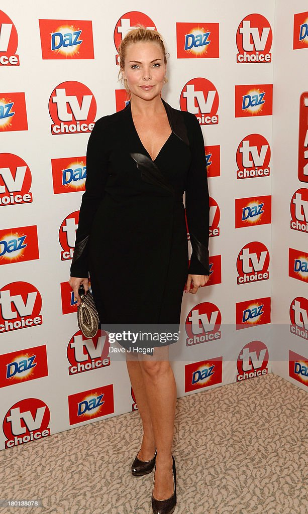 Samantha Womack attends the TV Choice Awards 2013 at The Dorchester on September 9, 2013 in London, England.