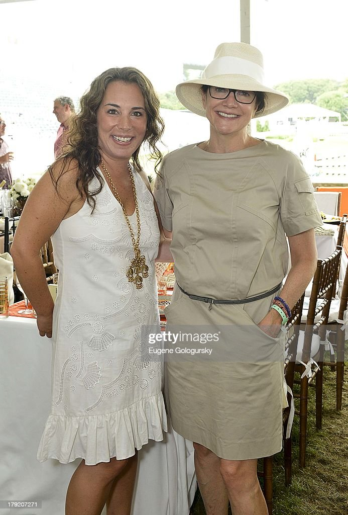 <a gi-track='captionPersonalityLinkClicked' href=/galleries/search?phrase=Samantha+Yanks&family=editorial&specificpeople=5586069 ng-click='$event.stopPropagation()'>Samantha Yanks</a> and Leslie Stevens attend the Hamptons Magazine Celebration of Grand Prix Sunday At Hampton Classic on September 1, 2013 in Bridgehampton, New York.