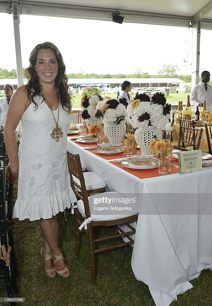 <a gi-track='captionPersonalityLinkClicked' href=/galleries/search?phrase=Samantha+Yanks&family=editorial&specificpeople=5586069 ng-click='$event.stopPropagation()'>Samantha Yanks</a> attends the Hamptons Magazine Celebration of Grand Prix Sunday At Hampton Classic on September 1, 2013 in Bridgehampton, New York.