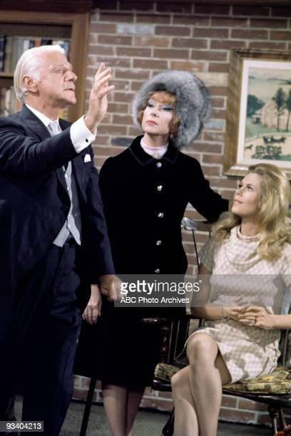 BEWITCHED 'Samantha's Good News' Season Five 4/10/69 Samantha met Endora's date warlock John Van Millwood