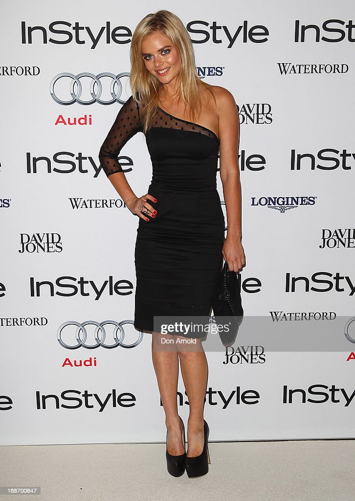 Samara Weaving arrives at the 2013 Instyle and Audi Women of Style Awards at Carriageworks on May 14, 2013 in Sydney, Australia.
