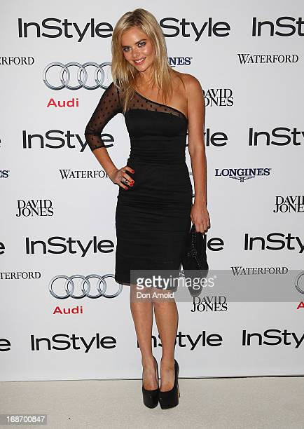 Samara Weaving arrives at the 2013 Instyle and Audi Women of Style Awards at Carriageworks on May 14 2013 in Sydney Australia