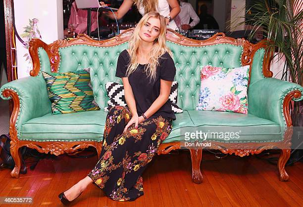Samara Weaving attends Crane Bar's 2nd birthday at XXX on December 16 2014 in Sydney Australia
