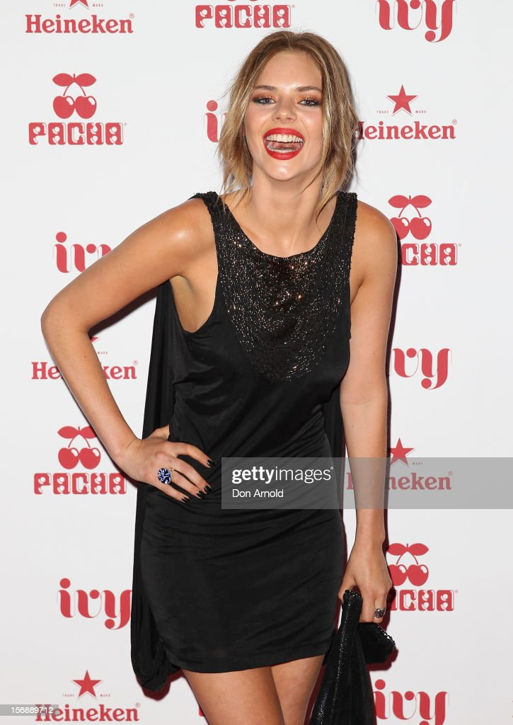 Samara Weaving poses at the Pacha Launch at the Ivy on November 24, 2012 in Sydney, Australia.