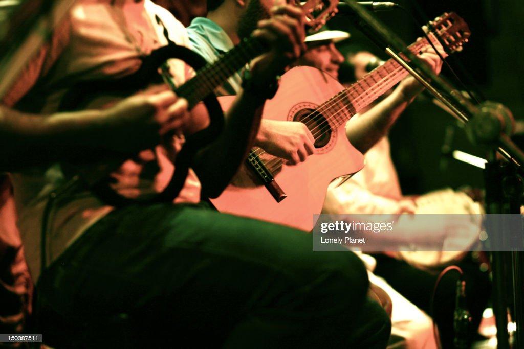 Samba band in club, Lapa. : Stock Photo