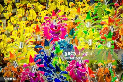 Samba School Parade at Carnaval